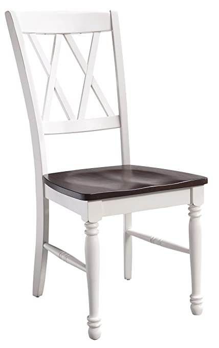 Crosley Furniture Cf501018 Wh Shelby Dining Chairs Set Of 2 White