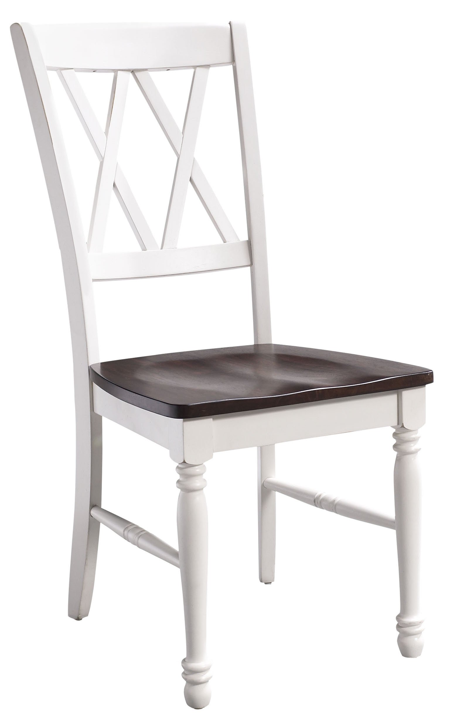 Crosley Furniture CF501018-WH Shelby Dining Chairs (Set of 2), White