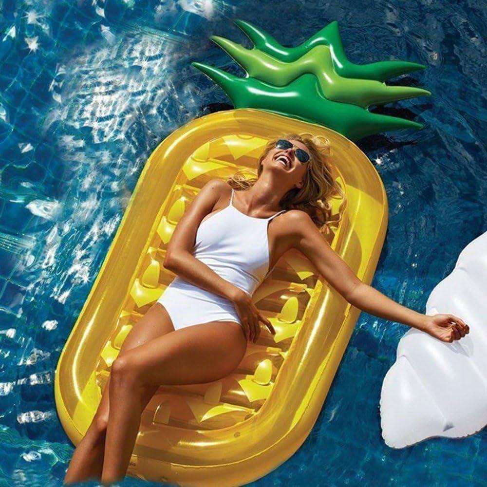 Piscina Inflable flotador Colchonetas y juguetes hinchables Piña ...