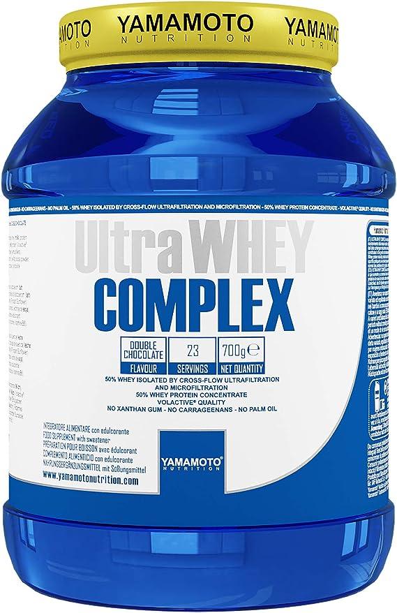 Yamamoto Nutrition Ultra Whey Complex Suplemento Alimenticio, Vainilla - 700 gr