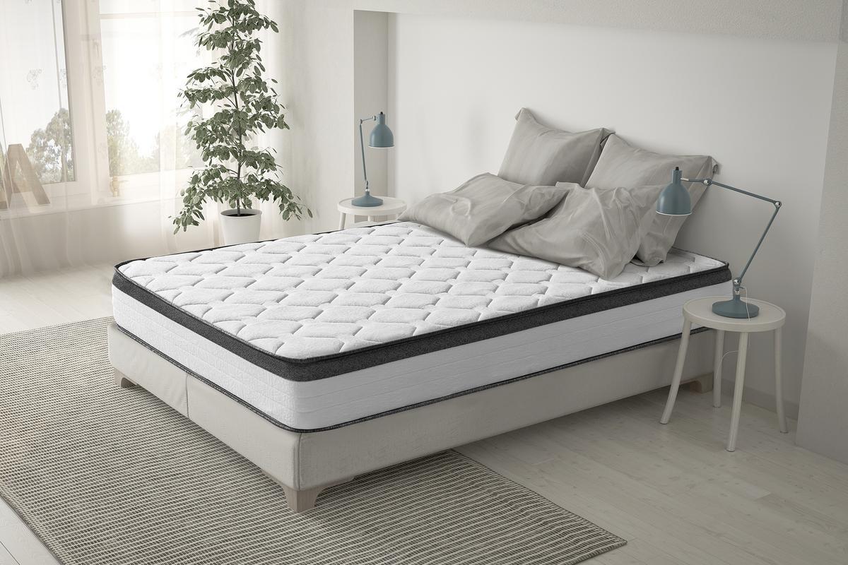 Sleepens Colchón de HR Espumación de alta densidad, alto - 26 cm, cama de 90 cm: Amazon.es: Hogar