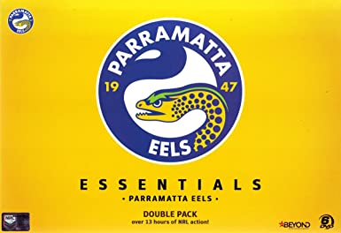 Nrl Essentials Parramatta Eels Double Pack Amazon Co Uk Dvd Blu Ray