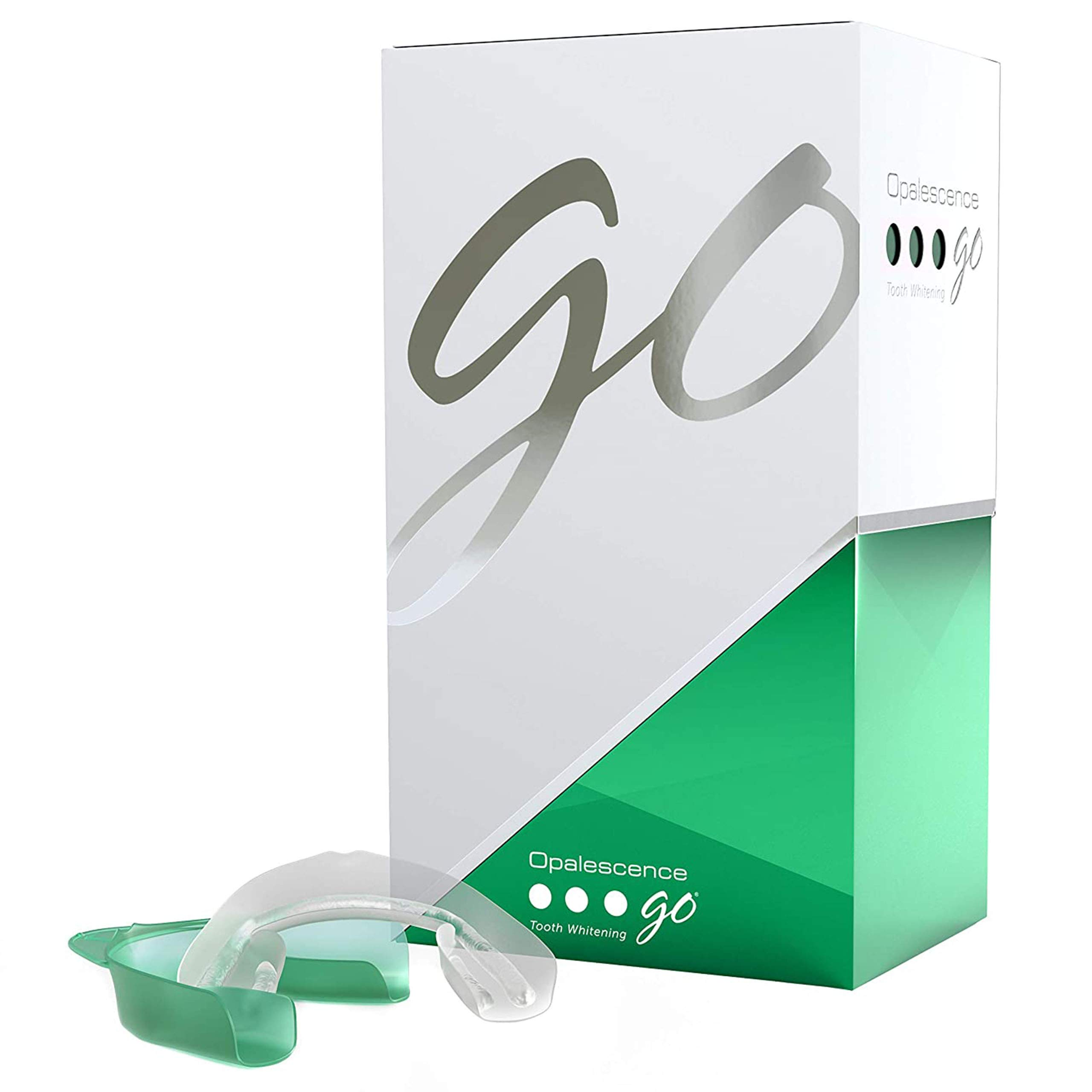 Opalescence Go - Prefilled Whitening Trays - 10% Teeth Whitening Kit, Oral Care - Mint Flavor