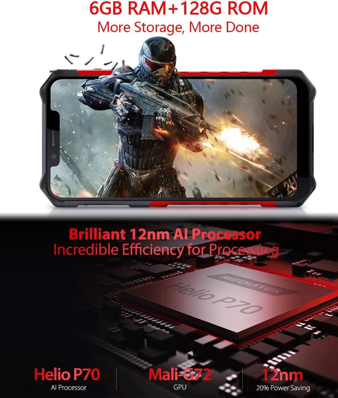 Amazon.com: Rugged Cell Phones Unlocked,Ulefone Armor 6s 4G ...