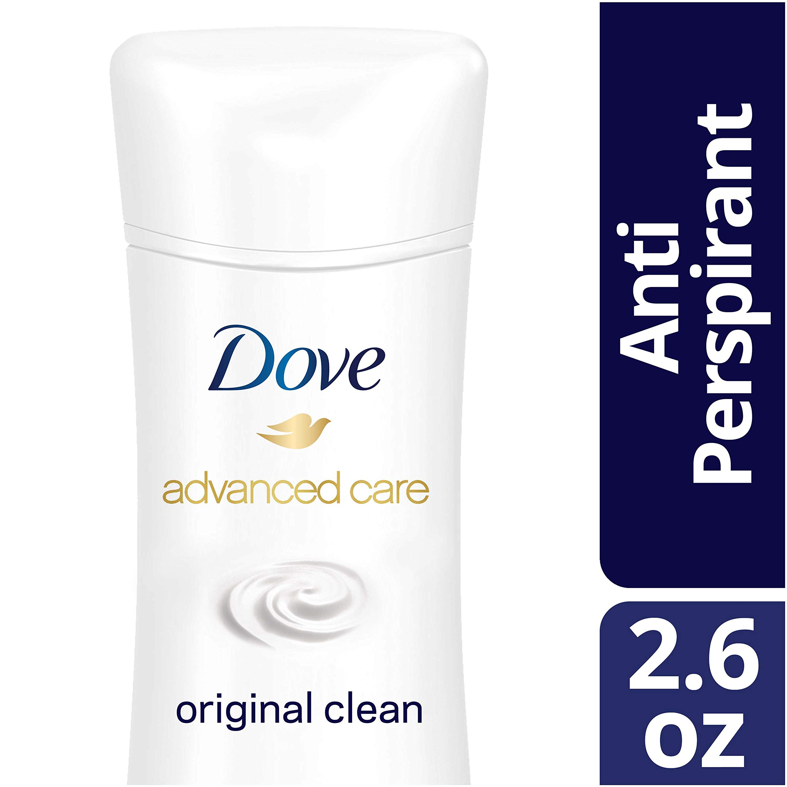 Dove Antiperspirant Deodorant, Original Clean, 2.6 oz