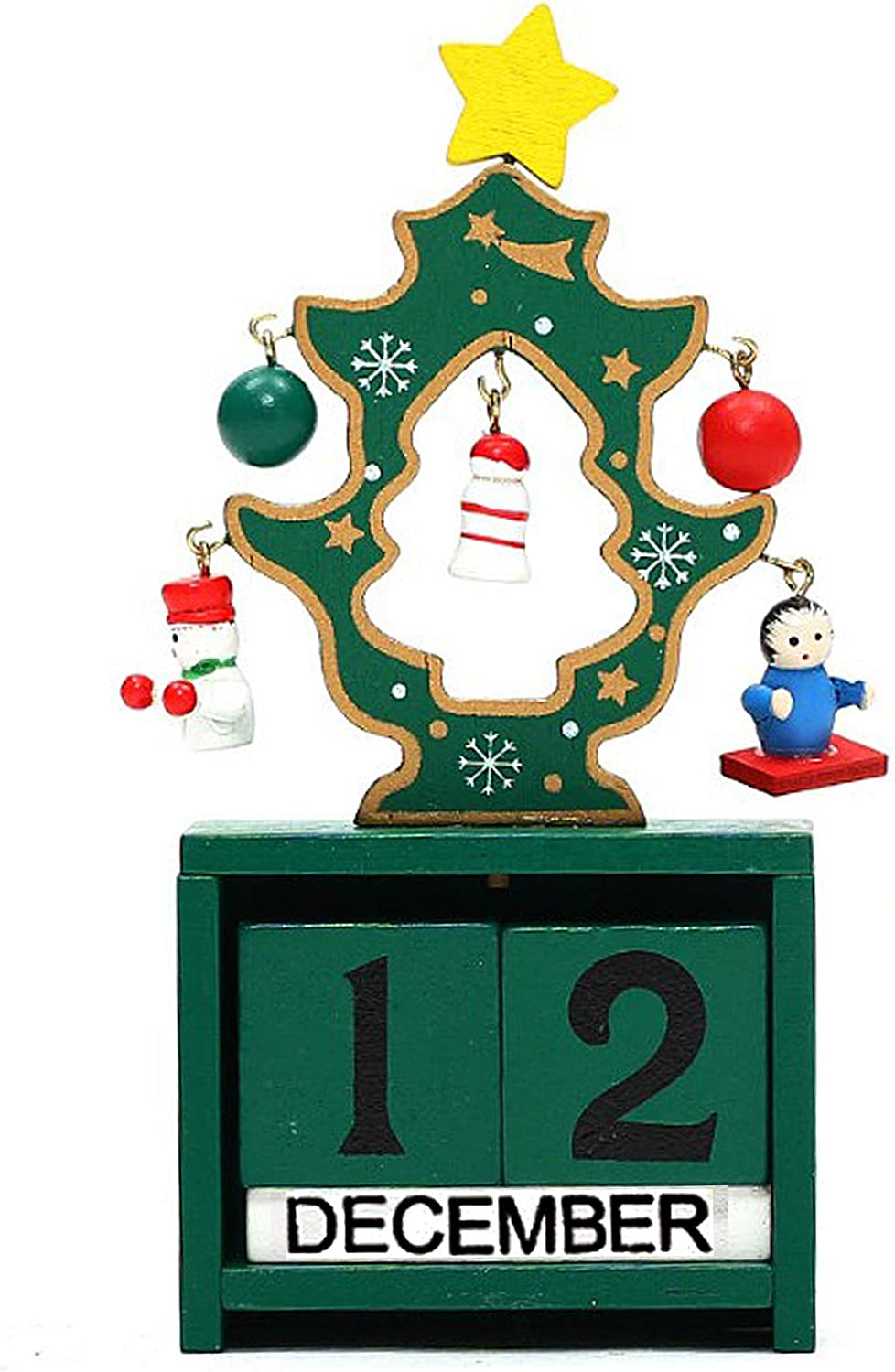 Christmas Tree Countdown Blocks