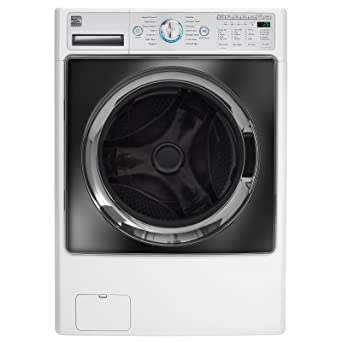 Amazon kenmore elite 41002 45 cu ft front load combination kenmore elite 41002 45 cu ft front load combination washerdryer in white fandeluxe Images
