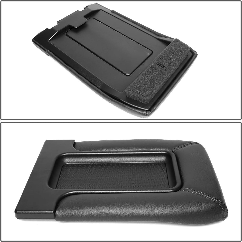 For 01-07 Silverado//Tahoe//Sierra//Yukon XL//Escalade Center Console Tray Lid Repair Kit Arm Rest Latch Black