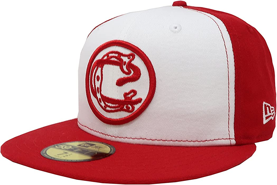 New Era 59Fifty Hat Chivas De Guadalajara Retro Liga MX White/Red Fitted Cap (