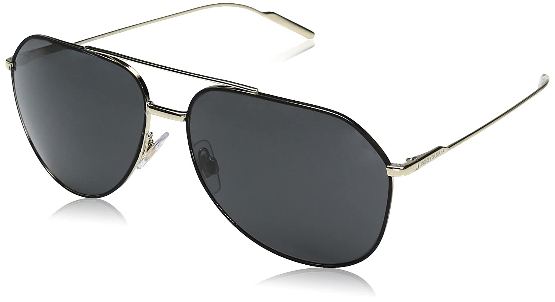 Dolce & Gabbana Mens Metal Man Sunglass 0DG2167 Aviator Sunglasses