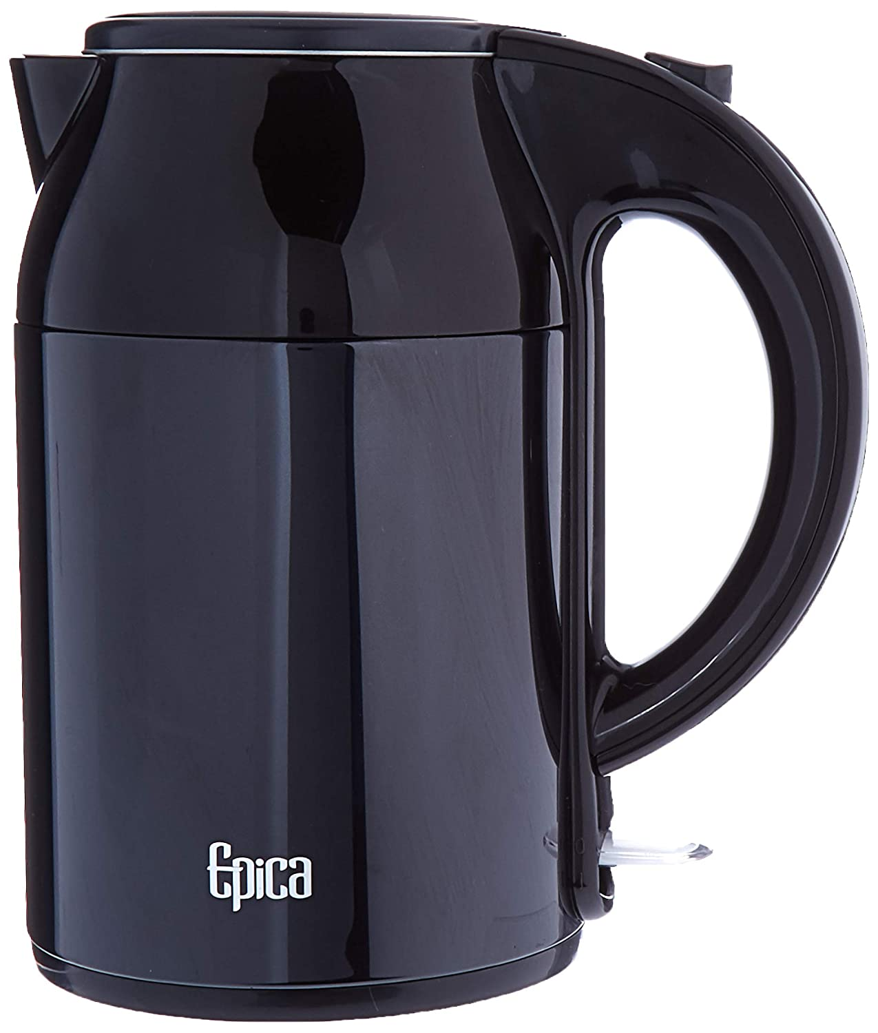 Epica SWF17S02U Black Cool Touch Kettle, 8.5 x 7.1 x 12.1 in in,