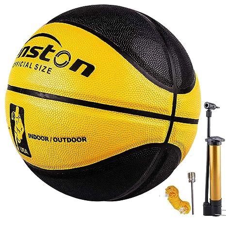 Senston Balon de Baloncesto Outdoor Pelota para Adulto,tamaño 7 ...