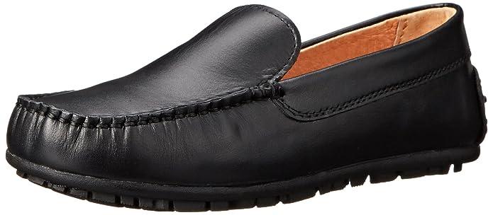 umi Saul - Mocasines de cuero para niño, color negro (black), talla 36 EU (3 UK) : Amazon.es: Zapatos y complementos