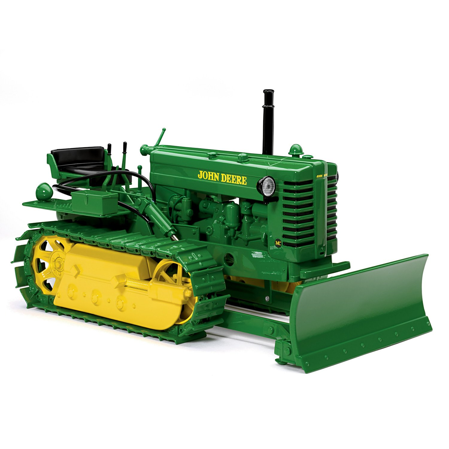 The Hamilton Collection 1:16-Scale 1949 John Deere Model MC Crawler With Blade Diecast Tractor