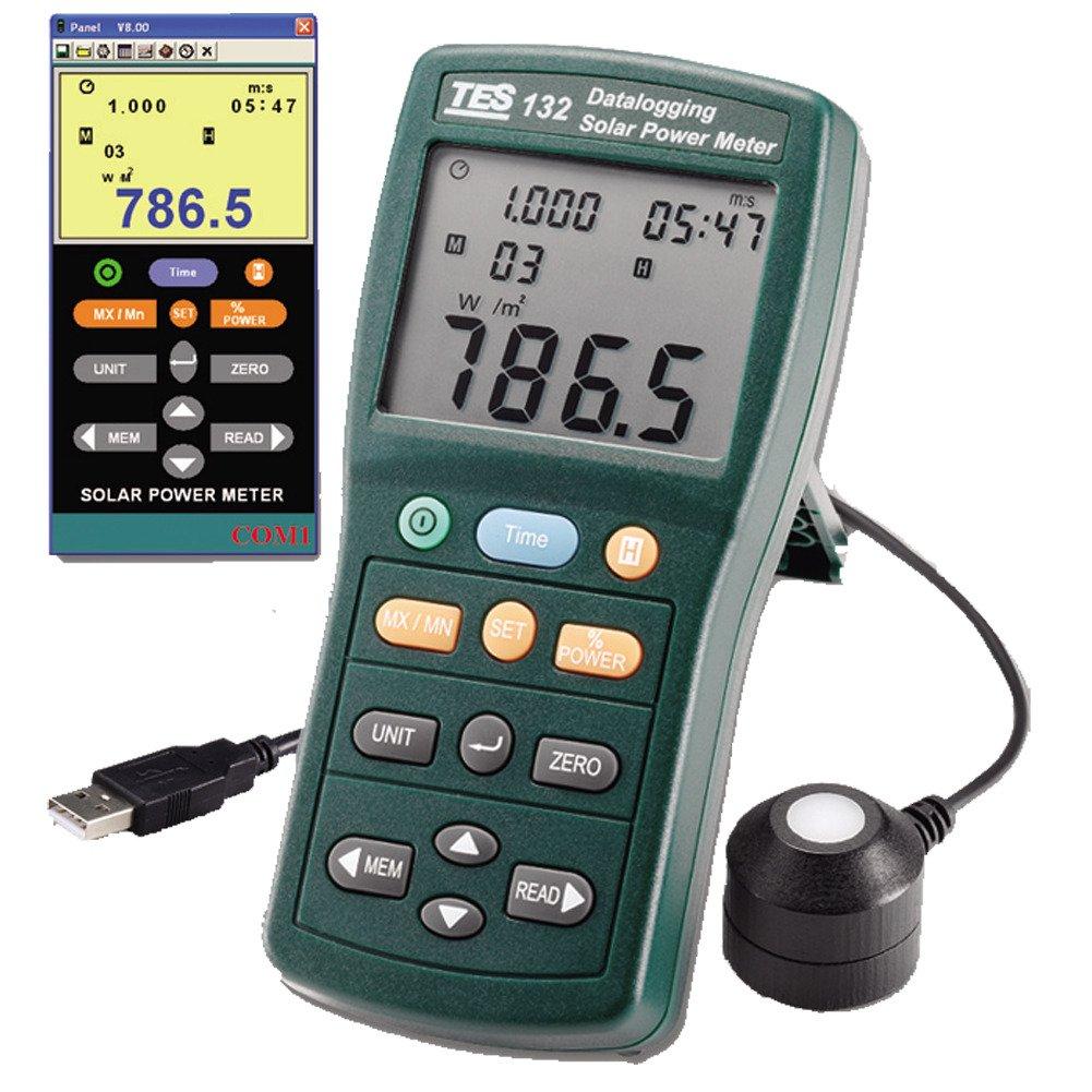 TES 132 Solar Power Meter (Datalogging)