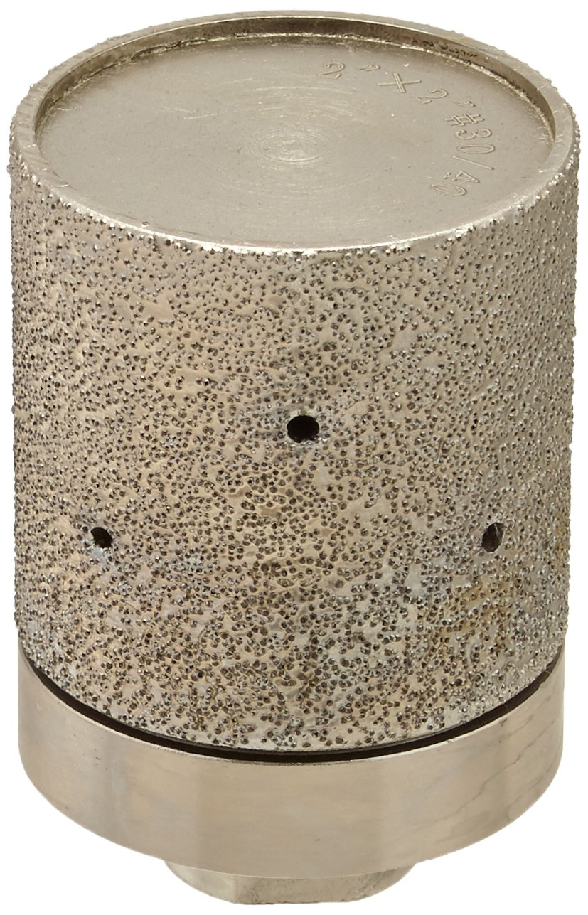 Toolocity VBDW0020 2-Inch x 2-Inch Brazed Diamond Coarse/Drum Wheel by Toolocity