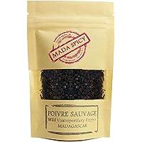 """马达加斯加野生黑胡椒玉米""""voatsiperifery""""453.59 克装,环保拉链袋。 美食质量"""