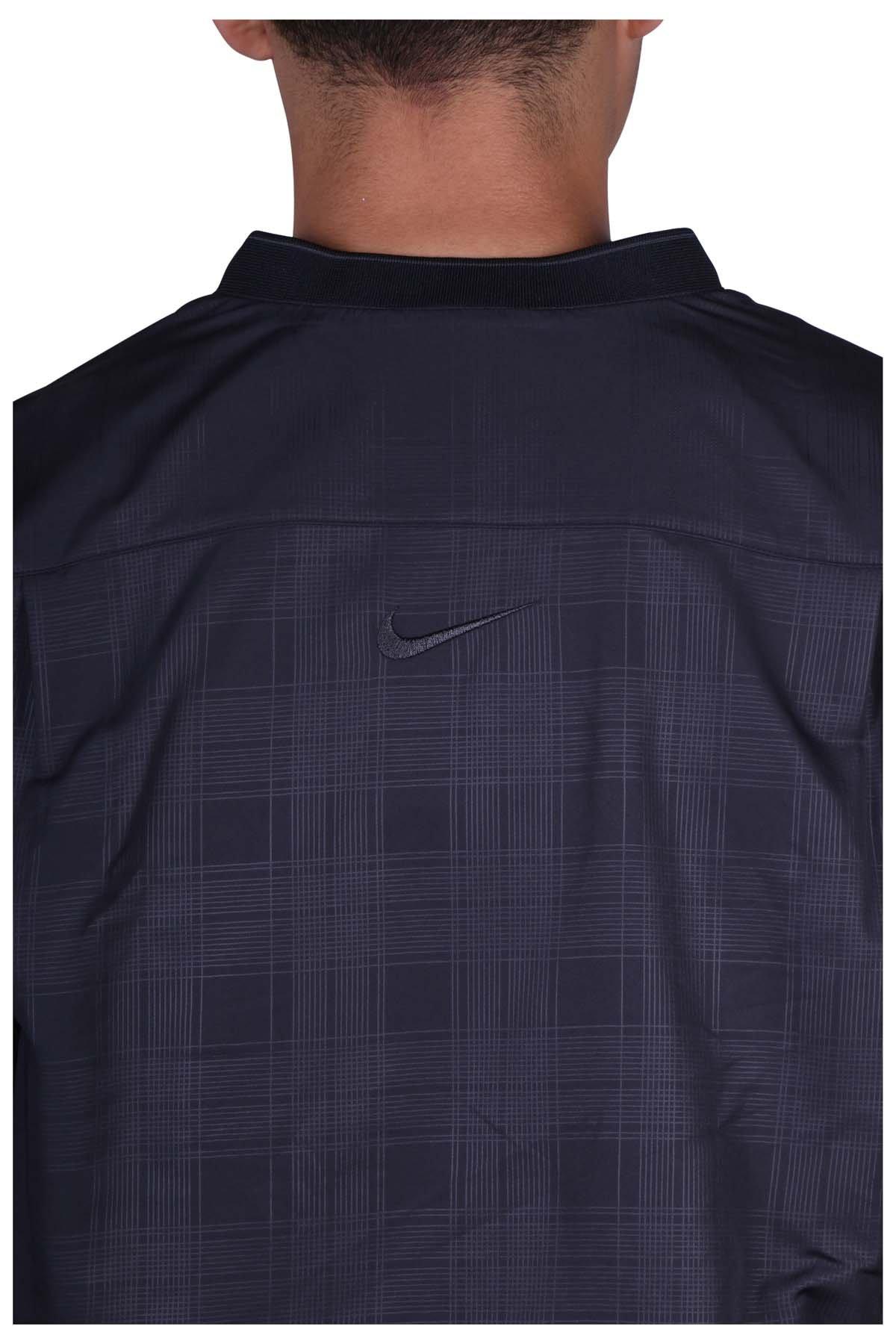 Nike Golf Men's Classic Half Zip Wind Jacket (Black, Small) by Nike Golf (Image #3)
