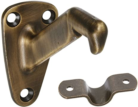 Stanley Home Designs V8025 3 Inch Heavy Duty Handrail Bracket, Antique  Bronze