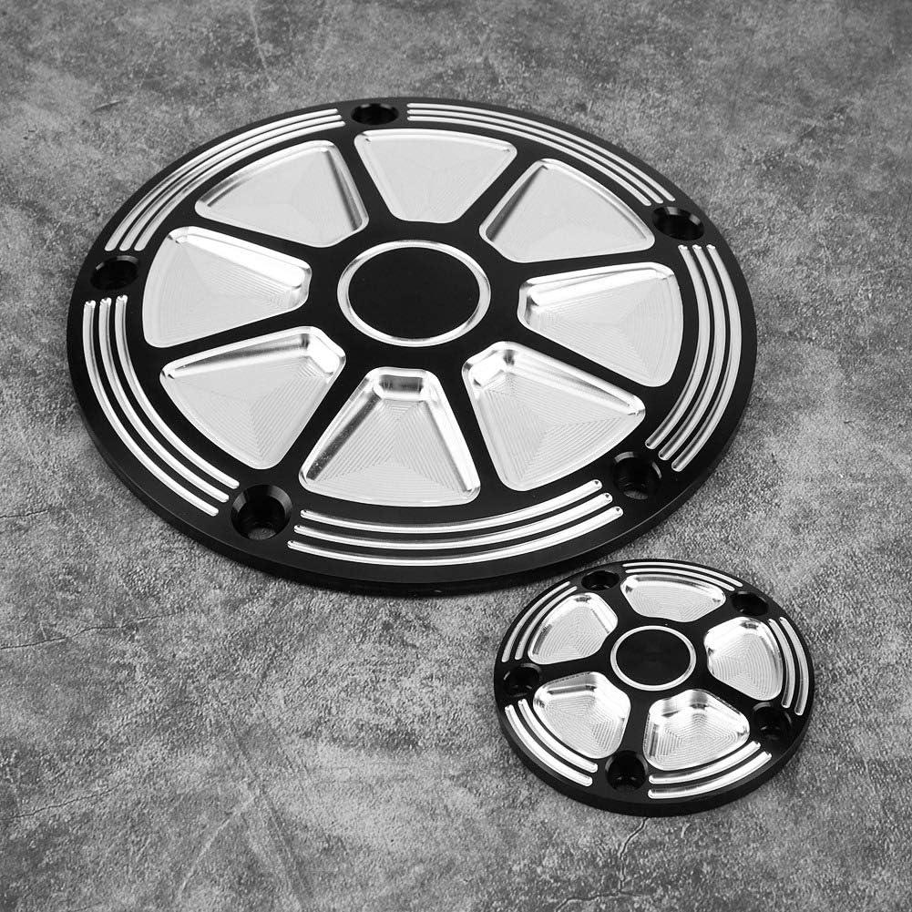 Keenso 2Stk Derby Zeit Abdeckungspunkte deckt CNC Aluminium Motorrad Derby Abdeckungs Zeitliche Koordinierung Abdeckungen