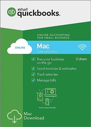 Amazon com: QuickBooks Online Mac 2019, 1 Year Subscription