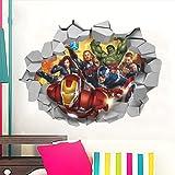 Avengers Assemble Wall Jammer Wall Decal Iron Man