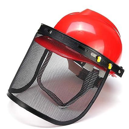 Kungfu Mall Red - Casco de protección Completo para ...