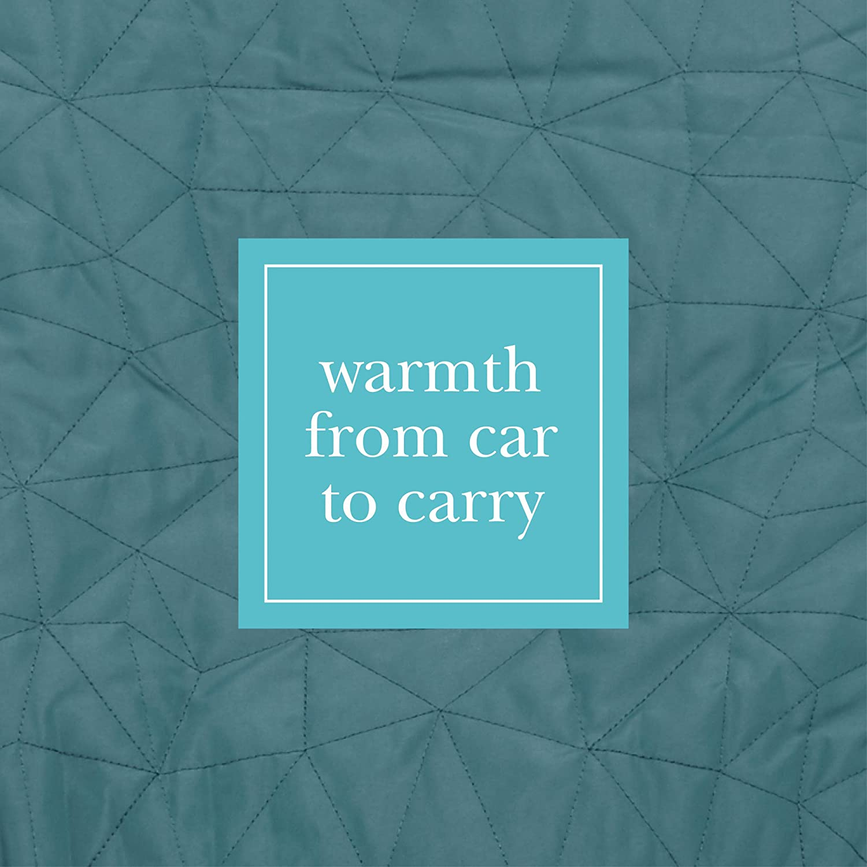 Black JJ Cole Car Seat Cover