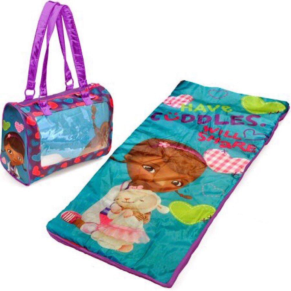 Disney Doc Mcstuffins Sleeping Bag and Sling Slumber Set