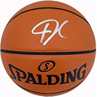 $318 » Giannis Antetokounmpo Autographed Official Spalding I/O Basketball Milwaukee Bucks Beckett BAS Stock #177450 - Autographed Basketballs