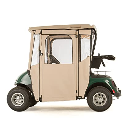 """door-lux"" golf carro Sunbrella almacenaje para EZGO RXV (elegir color"