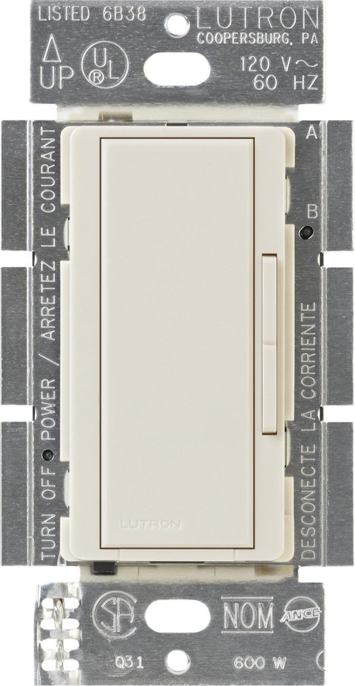 Lutron Ma R La Maestro Companion Dimmer Light Almond Wall Mar Wiring Diagram Switches