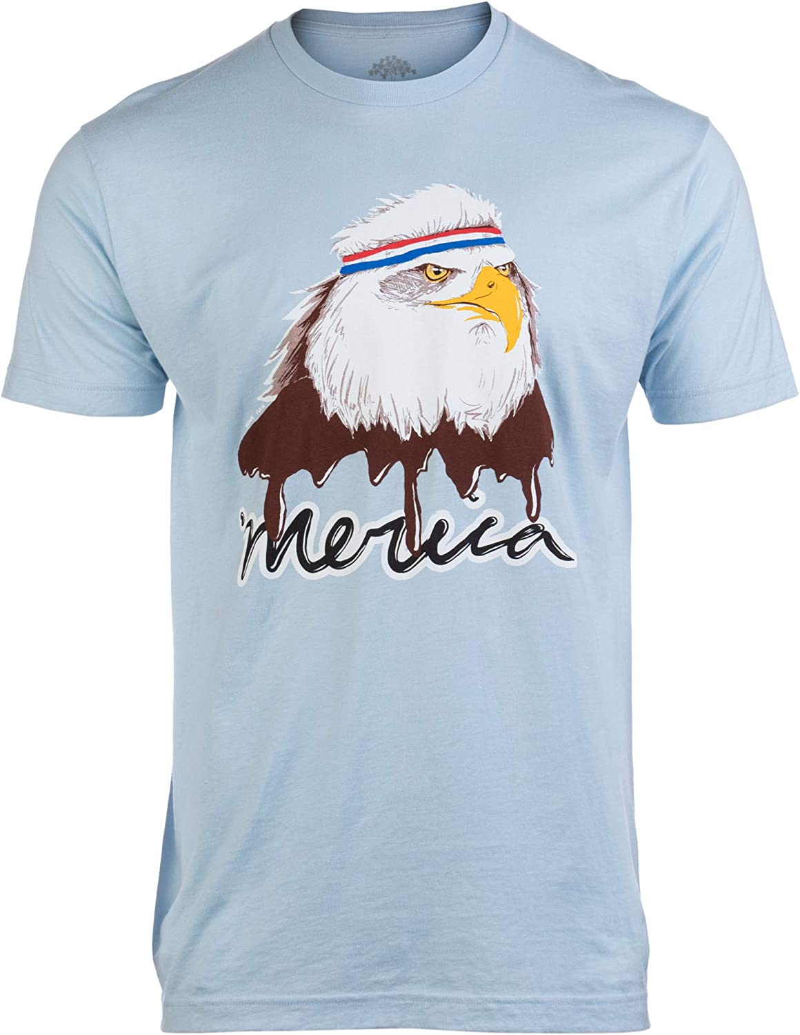 Ann Arbor T-shirt Company Hombres Merica Mullet Eagle Camisa ...