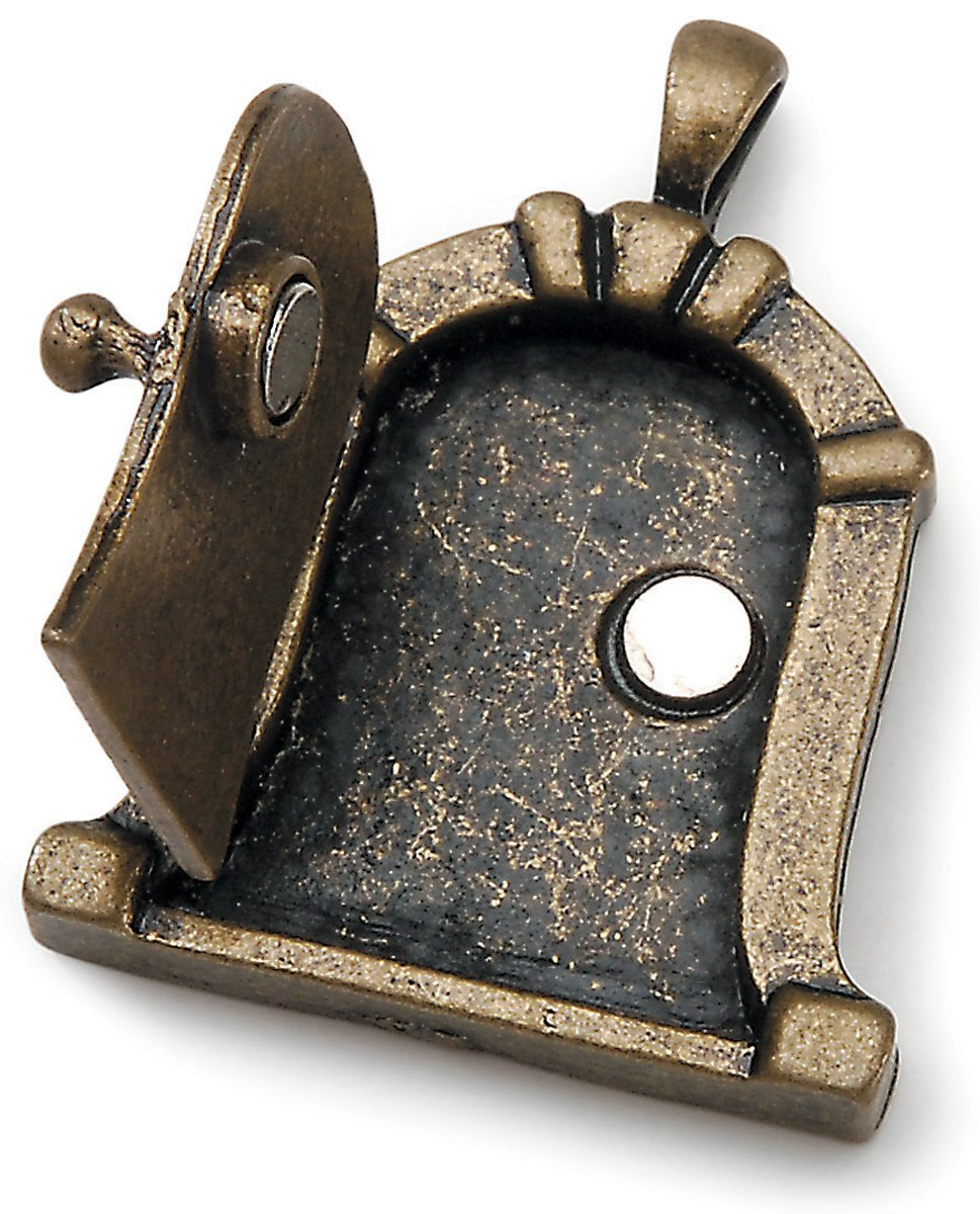 sc 1 st  Amazon.com & Amazon.com: Fairy Door Metal Charm 1/Pkg-Antique Bronze Dome