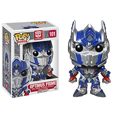 Funko POP! Movies: Transformers: Age of Extinction-Optimus Prime Action Figure: Funko Pop! Movies: Toys & Games