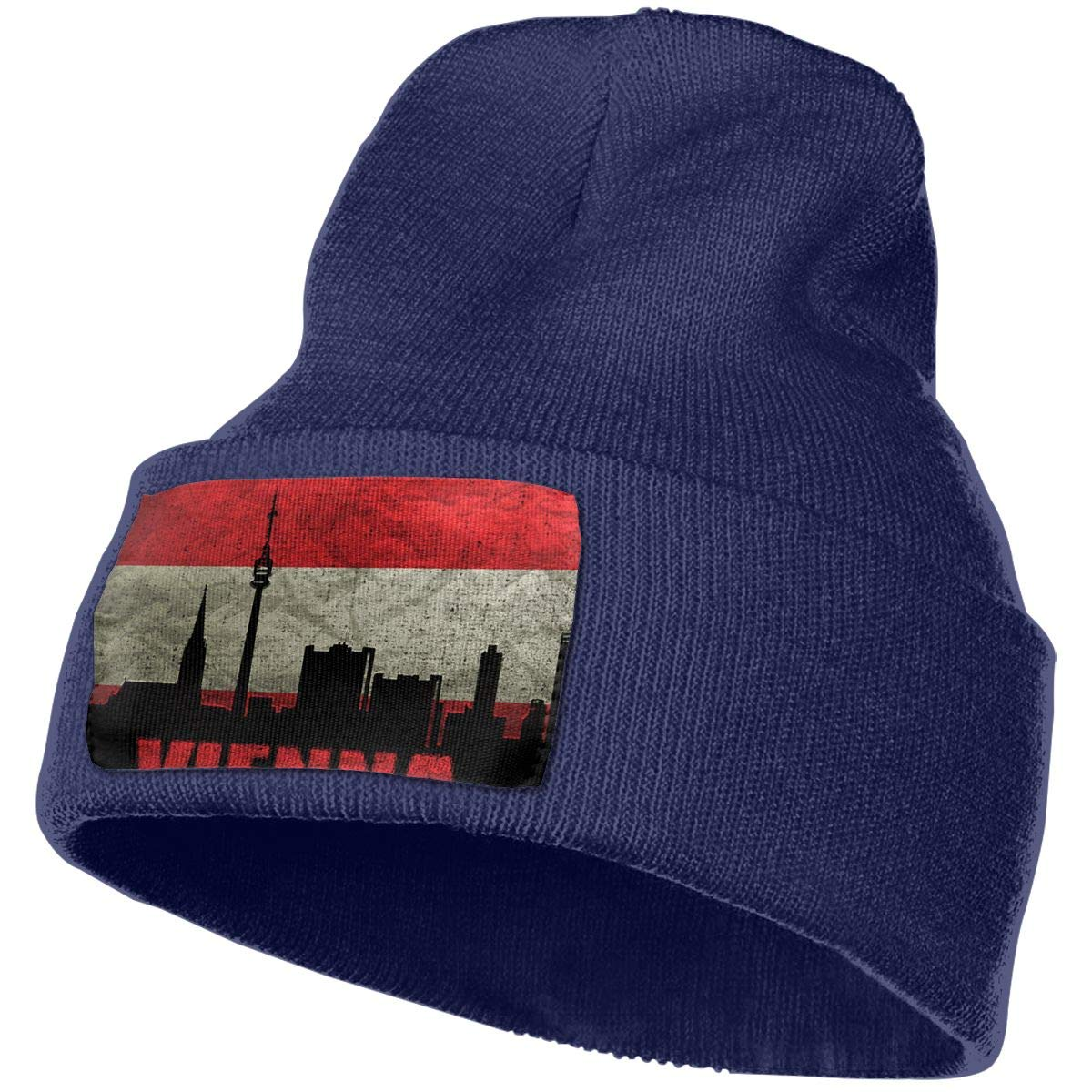 JimHappy Austria Vienna Architecture Hat for Men and Women Winter Warm Hats Knit Slouchy Thick Skull Cap
