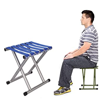 Awesome Luvina Portable Folding Stool Super Strong Heavy Duty Outdoor Folding Chair Hold Up To 650 Lbs Unfold Size 13 9 L X14 3 W X17 8 H Inch Pack Of Spiritservingveterans Wood Chair Design Ideas Spiritservingveteransorg