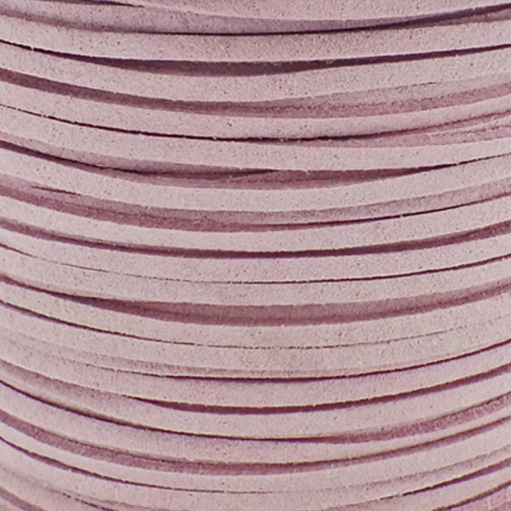 5m Violet 3mm Flat Faux Suede Cord
