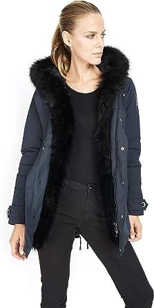 en Manteau Parka Fox Eskimo Dakota Fausse Woman Fourrure XiOZkuP