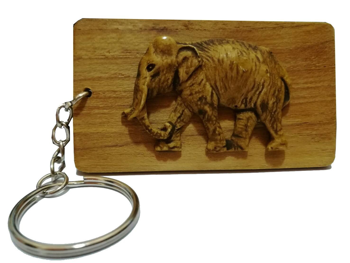 【オンライン限定商品】 Thai B079H379R8 Elephant Wood Handmade Souvenir Keychain Souvenir Keychain B079H379R8, モーターマガジン Web Shop:1eaaaa6f --- arianechie.dominiotemporario.com