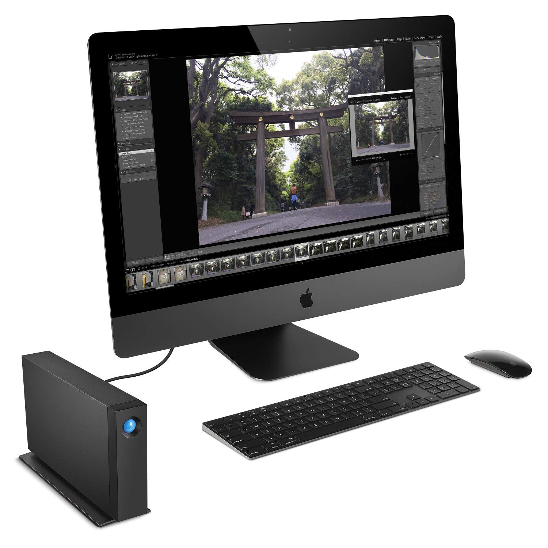 LaCie d2 4TB Professional Desktop Drive + SanDisk Ultra 32GB 80MB/s SD Card + MMC MultimediaCard & SD Secure Digital Reader USB Bundle by LaCie (Image #6)