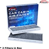 POTAUTO MAP 2004C Heavy Activated Carbon Car Cabin Air Filter Replacement compatible with NISSAN, Frontier, NV1500, NV2500, NV3500, Pathfinder, Xterra, SUZUKI, Equator