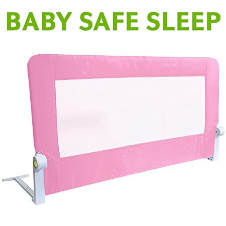 Tatkraft Guard Baby Bed Rail Foldable 120 Cm Easy Fit Safety Tall