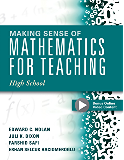 Amazon making sense of mathematics for teaching grades k 2 making sense of mathematics for teaching high school understanding how to use functions fandeluxe Choice Image