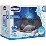 Chicco Next 2 Stars Cot Projector Soother Nightlight (Blue)