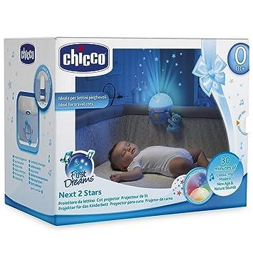 Amazon.com: Chicco Next2Me Proyector de luz nocturna de bebé ...
