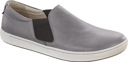 339015c97 Birkenstock  quot Barrie quot  Mens Slip On Shoes Leather Grey - 289271 ...
