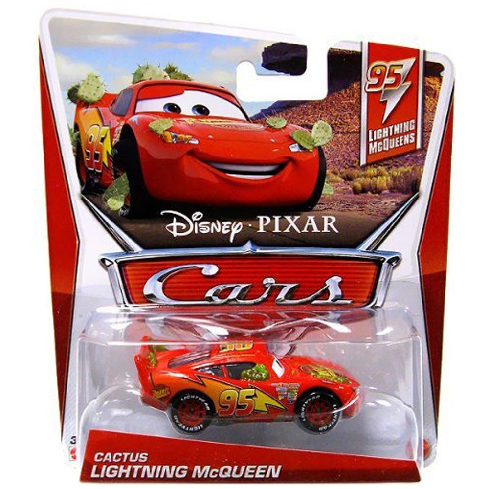 Amazon Disney Pixar Cars 95 Lightning McQueens Cactus McQueen Die Cast Vehicle Toys Games