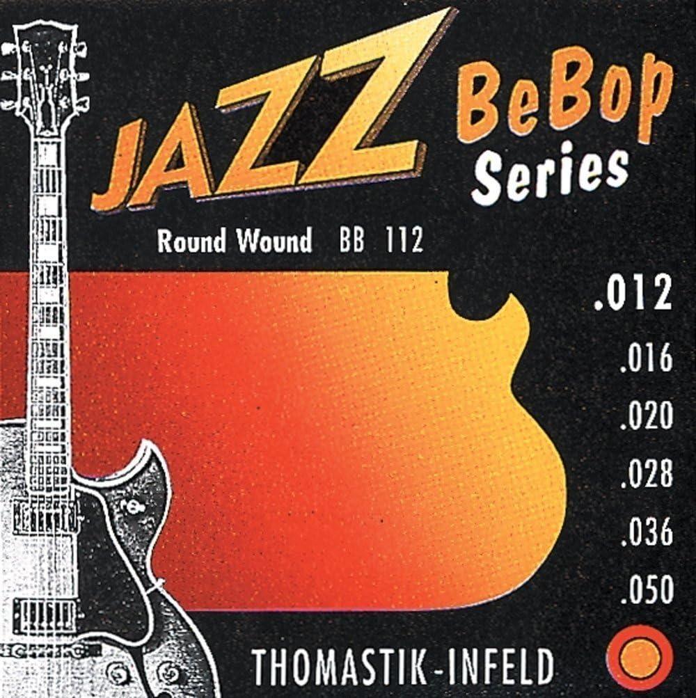 Thomastik cuerda Sol .021 níquel, flatwound JS21 para Guitarra Eléctrica Jazz Swing jeugo JS113