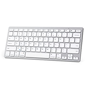 019ad0d69c6 Amazon.com: Anker Bluetooth Ultra-Slim Keyboard for iPad Air 2 / Air ...